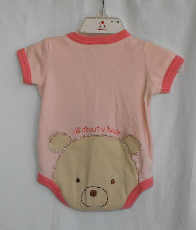 Carter's All About A Bear Baby Girl Newborn Onesie Bodysuit