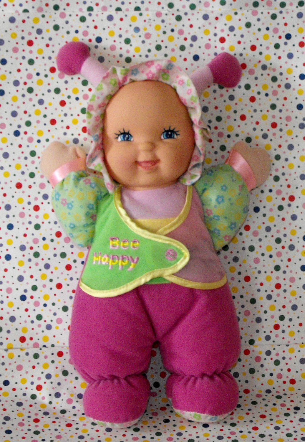 "*12/13*SOLD~Goldberger My First Baby Doll ""Bee Happy"" Collectible"