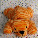 "Ty Beanie Large Pillow Pal ""Purr"" the Orange Cat"
