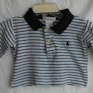 RALPH LAUREN BABY BOY 0-3 MONTHS POLO SHIRT LONG SLEEVE