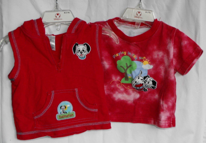 Disney 101 Dalmatians Baby Boys 6 9 Months Top Vest Outfit