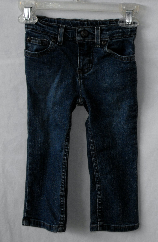Arizona Girl 2T Skinny Jeans Dark Wash~Gently Used