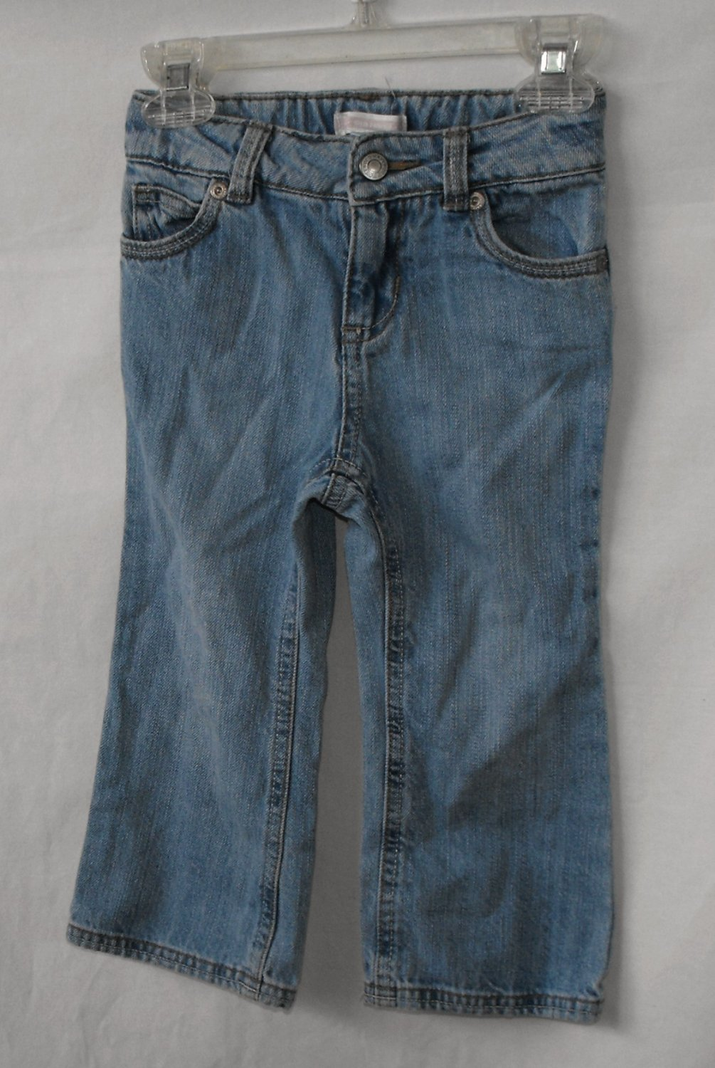 Old Navy Baby Girl 2T Jeans Bootcut Lightwash