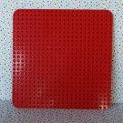 Lego Duplo Base Red Square Block Plate