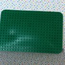 Lego Duplo Base Green Rectangle Block Plate