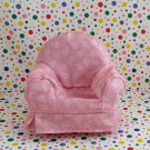 Fisher Price Loving Family Special Edition Dollhouse Livingroom Pink Chair