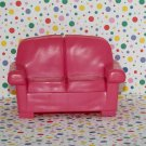 Fisher Price Loving Family Dollhouse Pink Loveseat