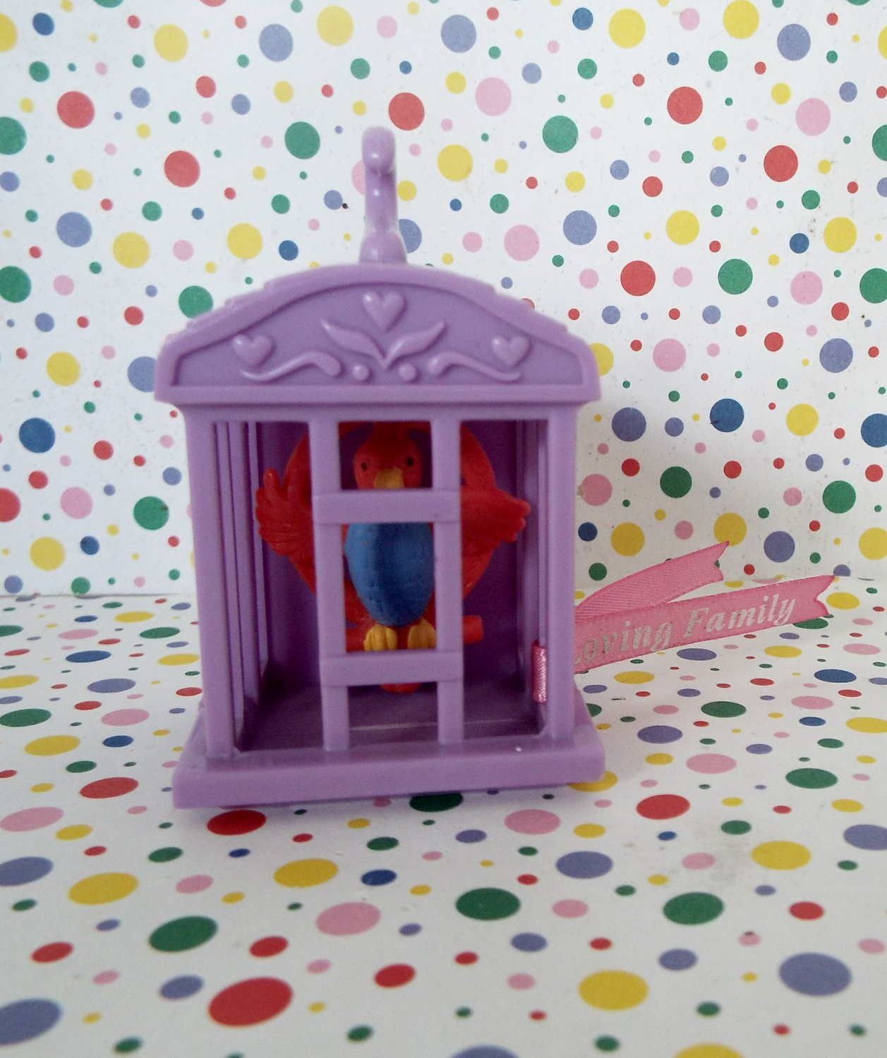 Fisher Price Loving Family Sweet Sounds Dollhouse Bird in a Cage