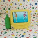 Fisher Price Loving Family Dollhouse Yellow TV