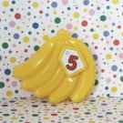 LeapFrog Count and Scan Shopper 5 Bananas Part