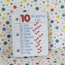 LeapFrog Count and Scan Shopper Shopping List Part #10