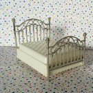 Fisher Price Loving Family Special Edition Dollhouse Brass Bed