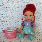 Disney's Sparkle Princess Little Mermaid Ariel Doll with Potty