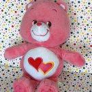Care Bears Love A Lot Bear Pink Stuffed Bear