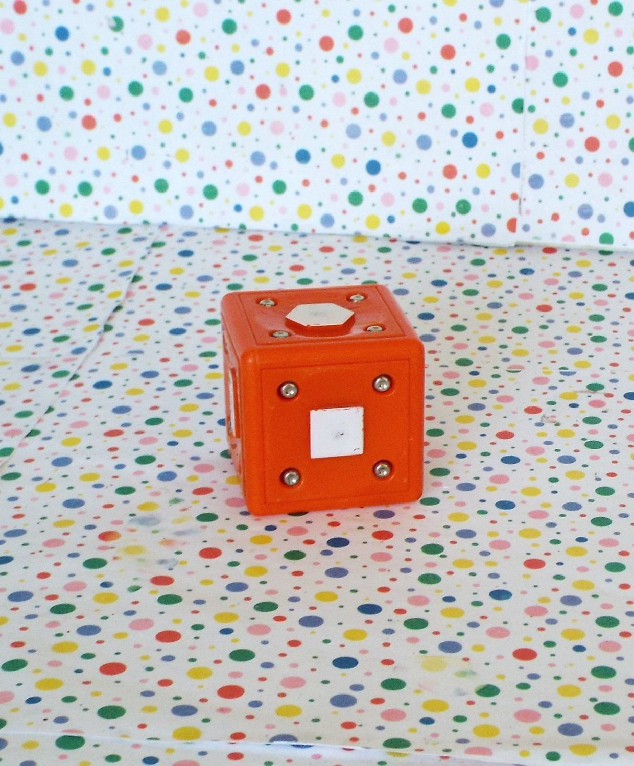 Neurosmith Music System Learning Toy Replacement Orange Block Part