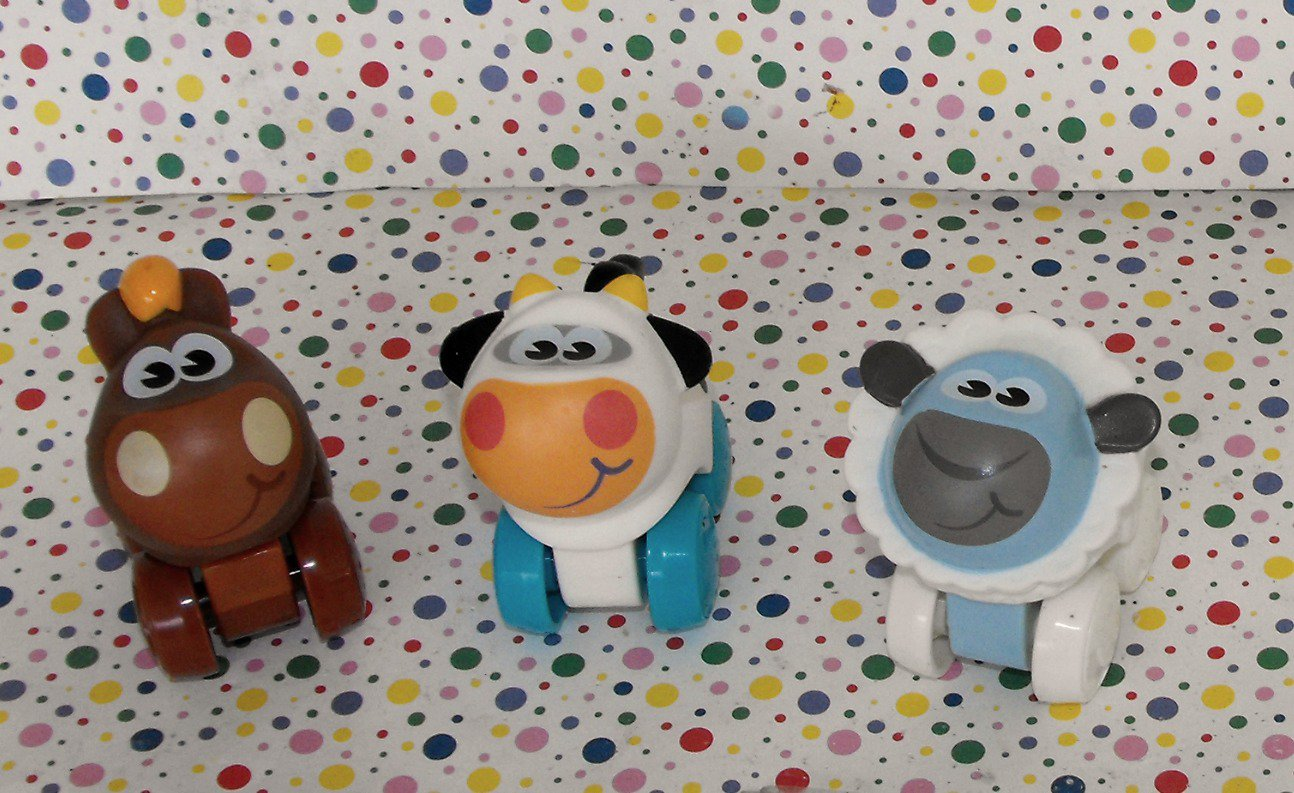 Playskool Animal Tracks Farm Wheel Pals Farm Animals