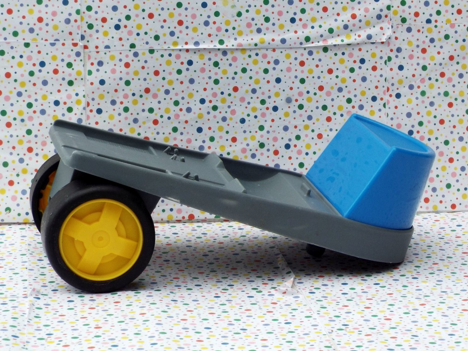 Little tikes rugged riggz motorcycle hauler truck trailer for Little tikes spare parts