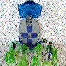 Ben 10 Alien Creation Chamber Lot Blue