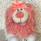 Disney Fluppy Dogs Pink and White Yarn Hair