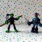 Teenage Mutant Ninja Turtles Mini Mutants Donatello vs. Foot Tech Ninja