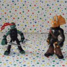 Teenage Mutant Ninja Turtles Mini Mutants Raphael vs. Triceraton