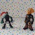 Teenage Mutant Ninja Turtles Mini Mutants Raphael vs. Triceraton