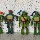 Teenage Mutant Ninja Turtles Movie Figure Set