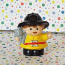 Fisher Price Little People Fireman Fire Fighter Fire Truck Part