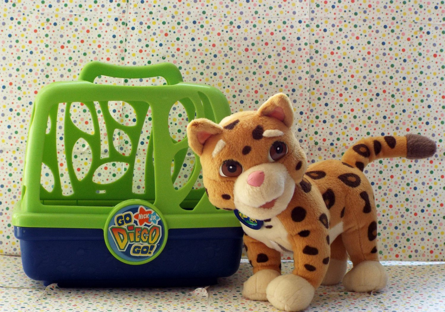 *11/14*SOLD~Fisher Price Go Diego Go Diego's Animal Rescue Baby Jaguar