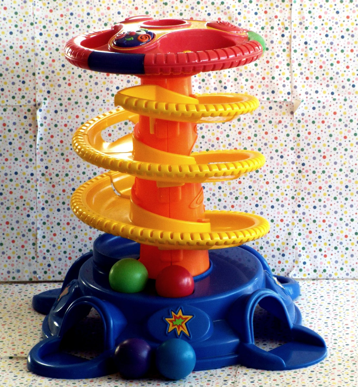 12 15 Sold Fisher Price Baby Playzone Pull Up Ball Blast