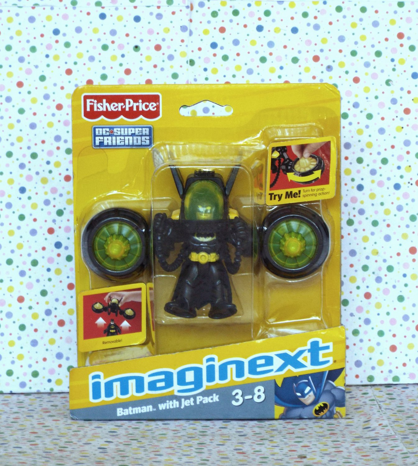 Fisher Price Imaginext Batman and Jet Pack