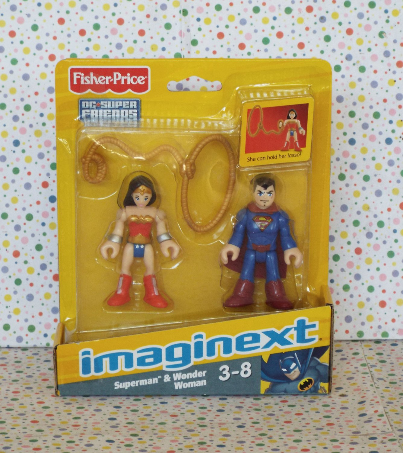 Fisher Price Imaginext Superman and Wonder Woman
