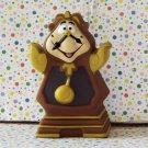 Disney Beauty Beast Pizza Hut Cogsworth Clock Puppet