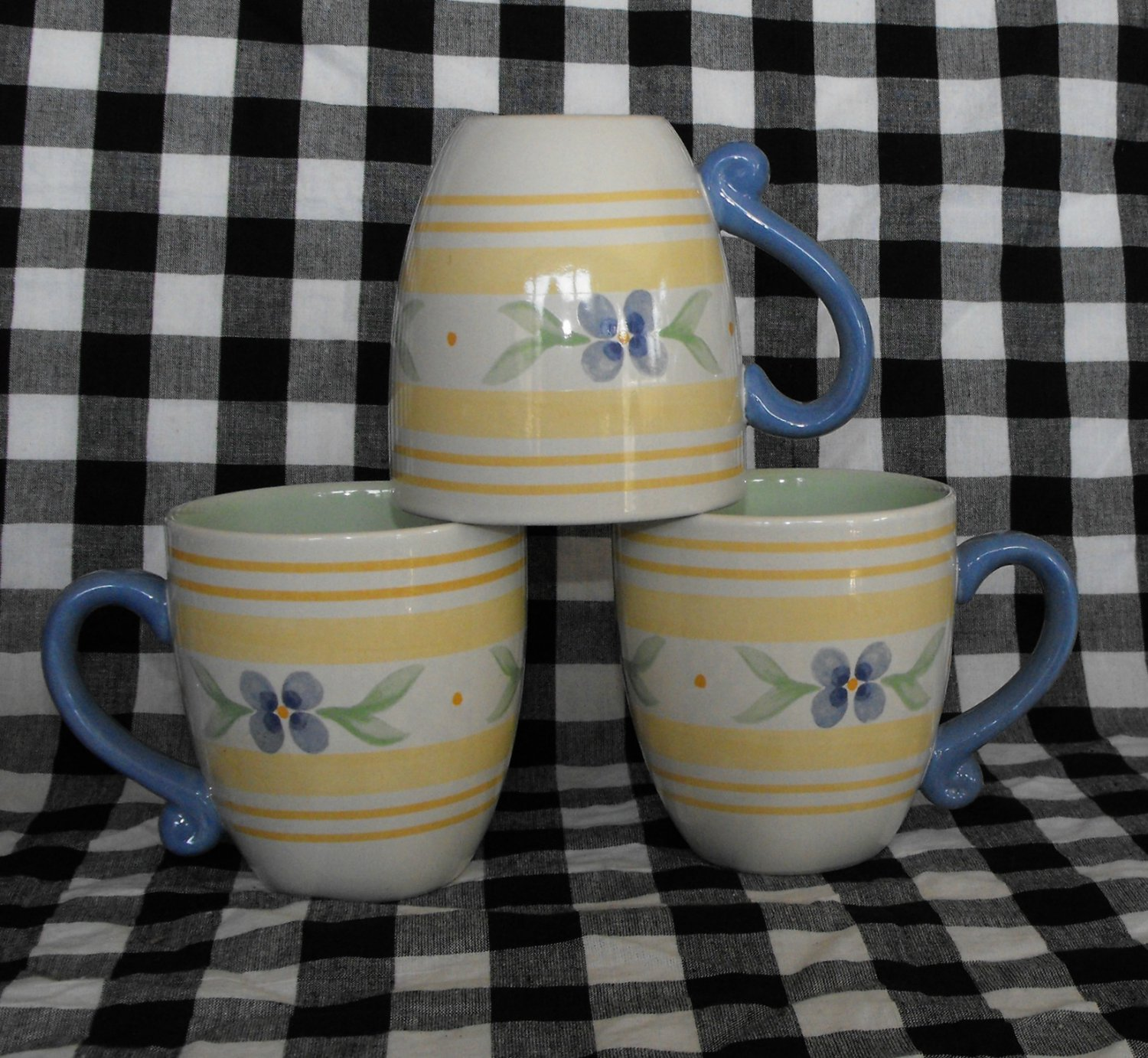 Pfaltzgraff Summer Breeze Coffee Mug Lot