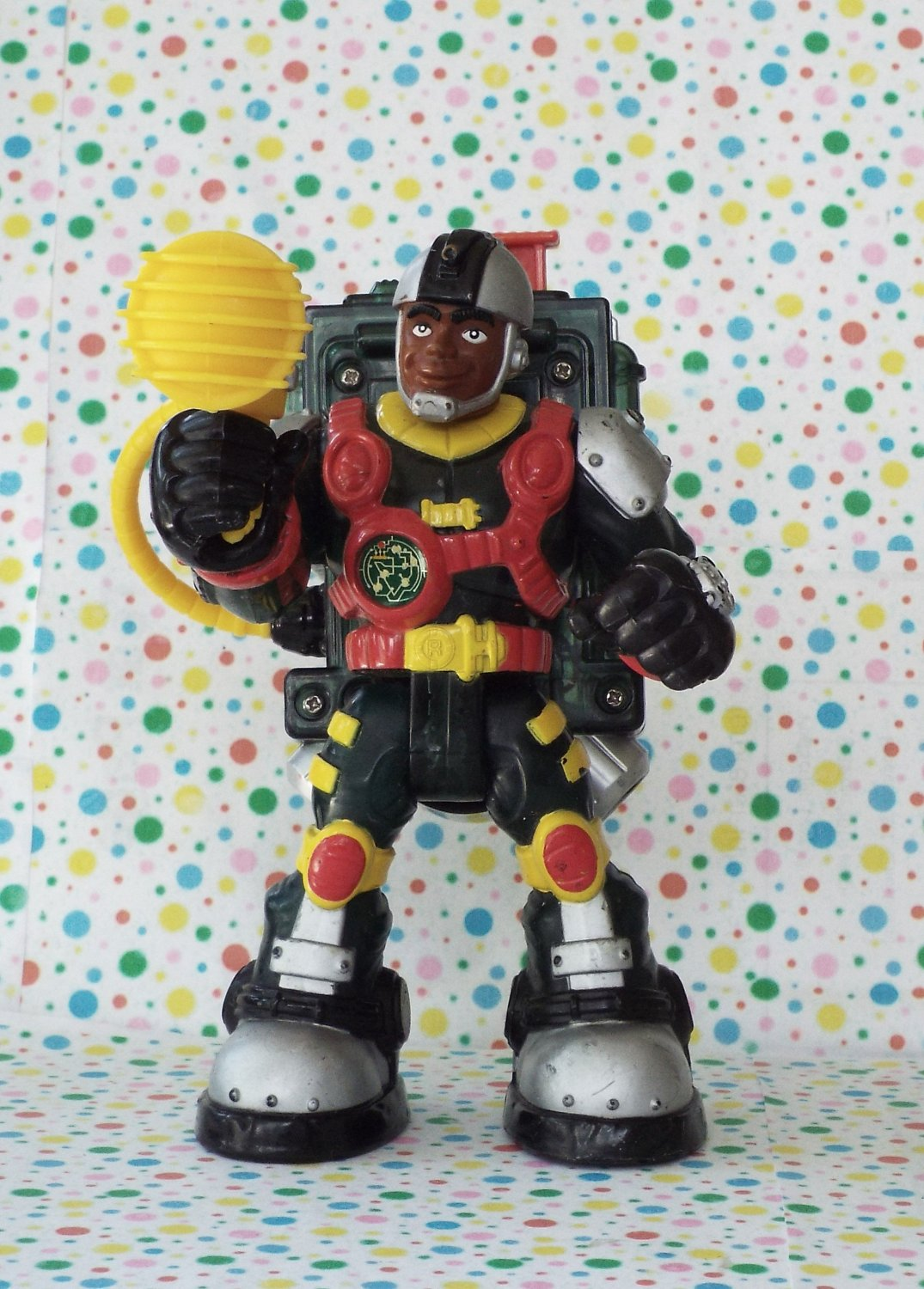 *9/16*SOLD~ Fisher Price Voice Tech Video Mission Rescue Heroes Rocky Canyon