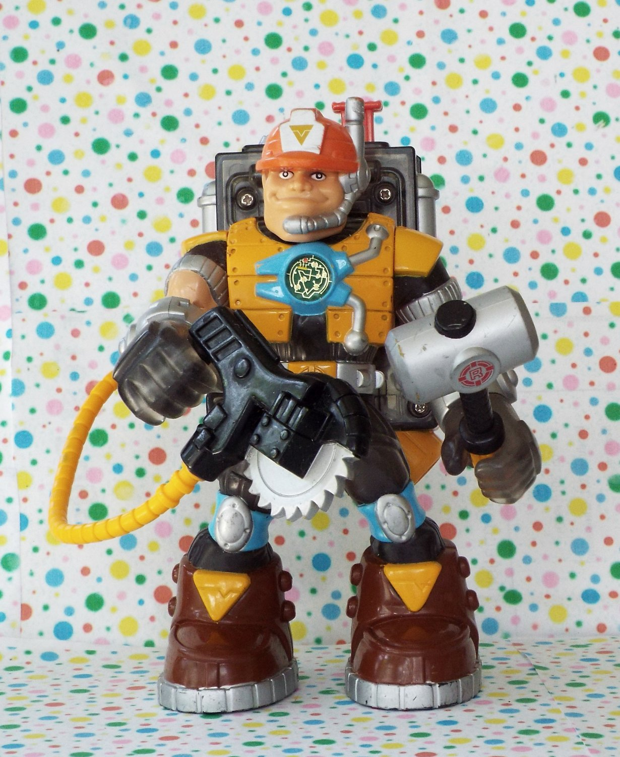 Rescue Heroes Voice Tech Video Mission  Jack Hammer