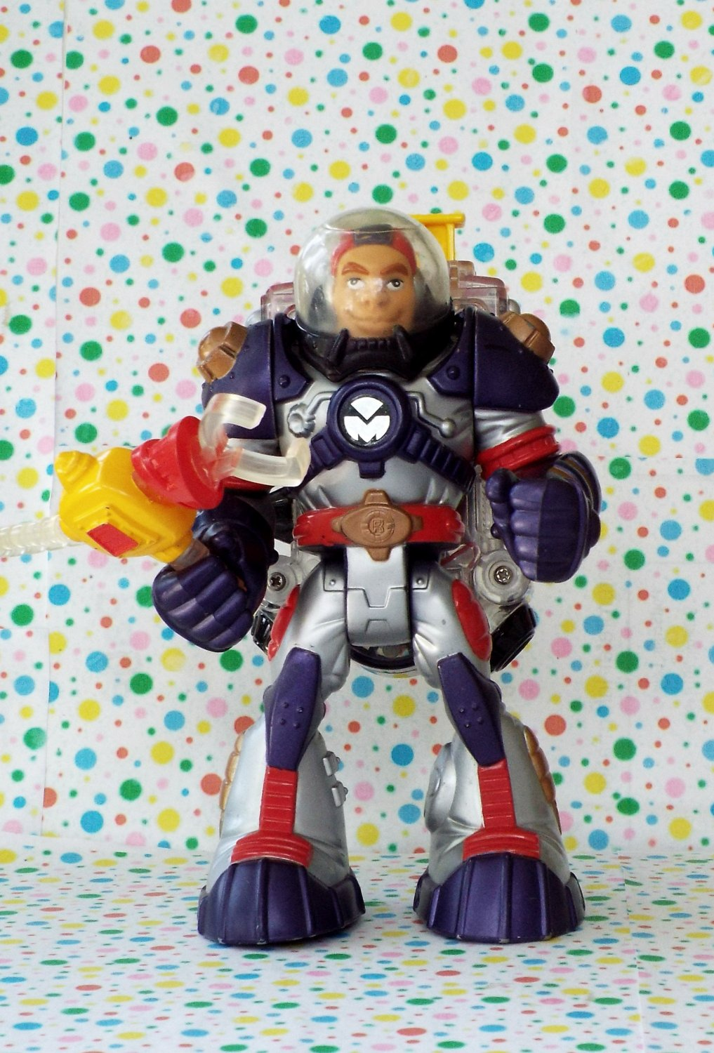Fisher Price Voice Tech Video Mission Rescue Heroes Roger Houston
