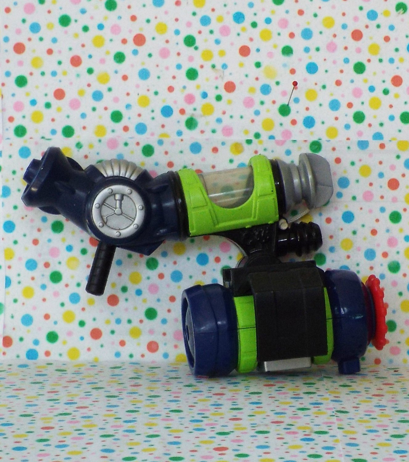 Fisher Price Rescue Heroes Hydro Team Bob Buoy Backpack Part