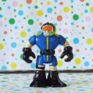 Fisher Price Rescue Heroes Micro Underwater Nightmare Scuba Diver Figure Part