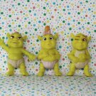 McDonalds Shrek the Movie Talking Baby Ogre Figures