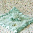 Tiddliwinks Bear Security Blanket Green Octopus Under Sea Lovey