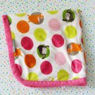 Blankets and Beyond Baby Pink Circles Jungle Security Blanket Lovey