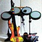 Playstation 2 PS2 Rock Band Set