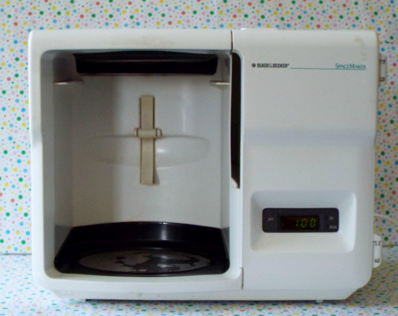 *9/14*SOLD~Black and Decker Spacemaker Coffeemaker Cabinet Part