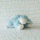Baby Gund Winky Blue Lamb Rattle