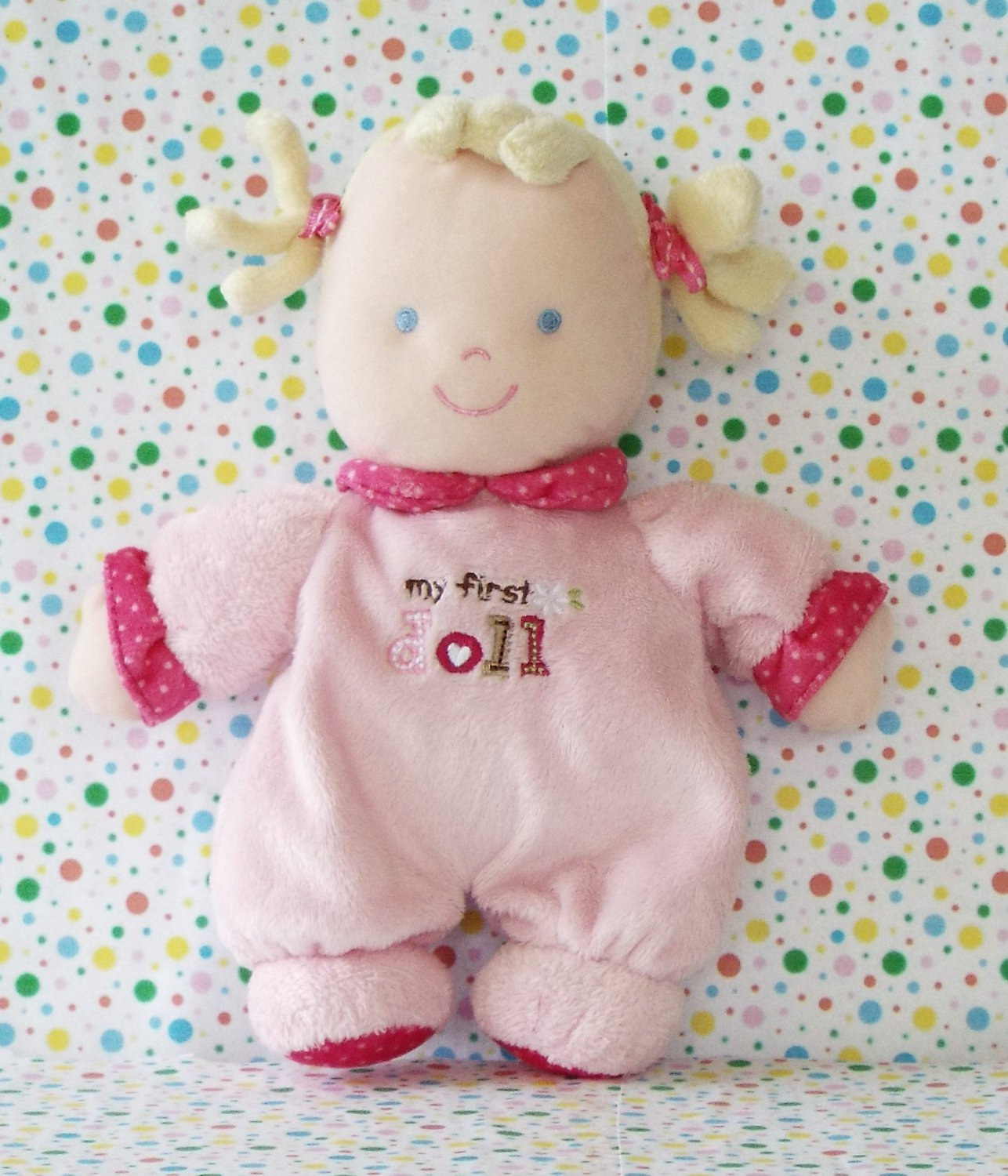 *12/14*SOLD~Carter's My First Doll Pink Baby Doll Lovey