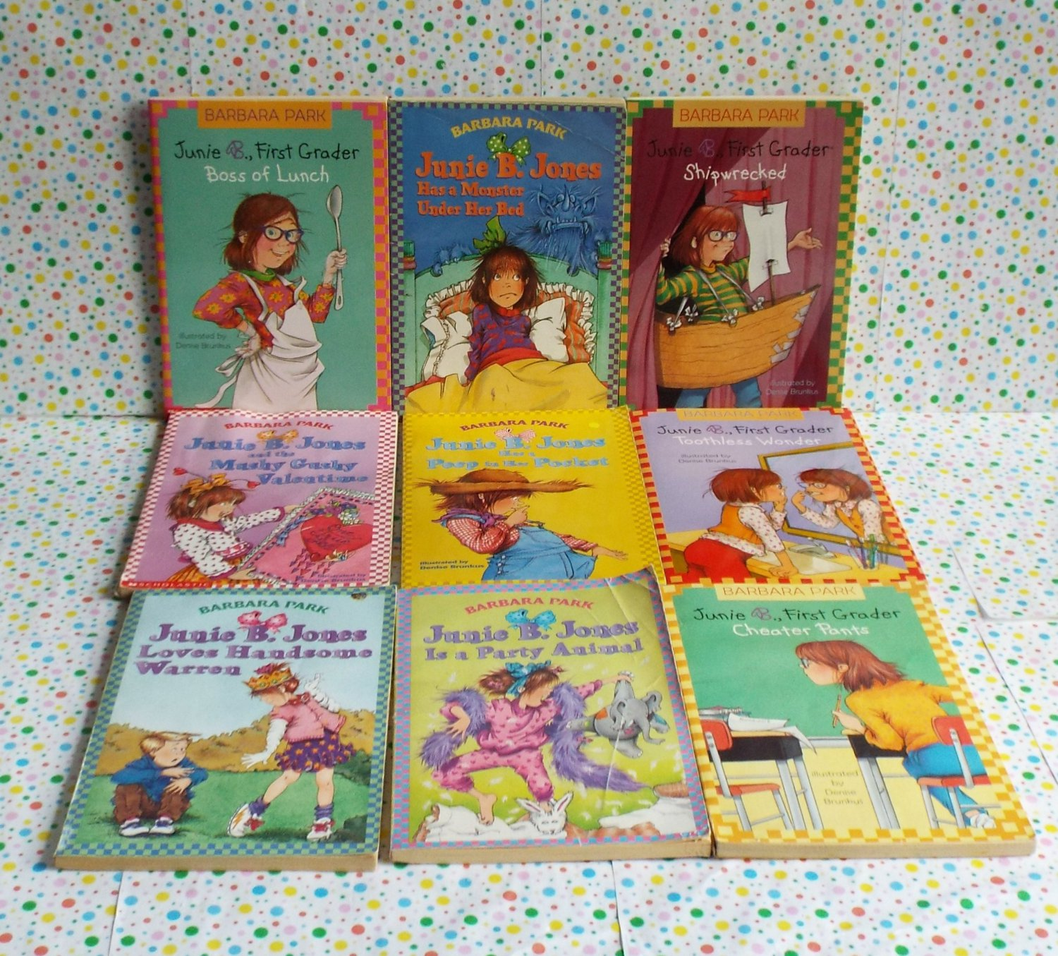 Junie B. Jones Chapter Book Lot