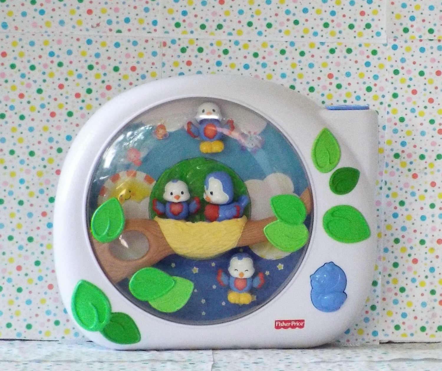*10/15*SOLD~Fisher Price Flutterbye Dreams Lullabye Birdies Soother