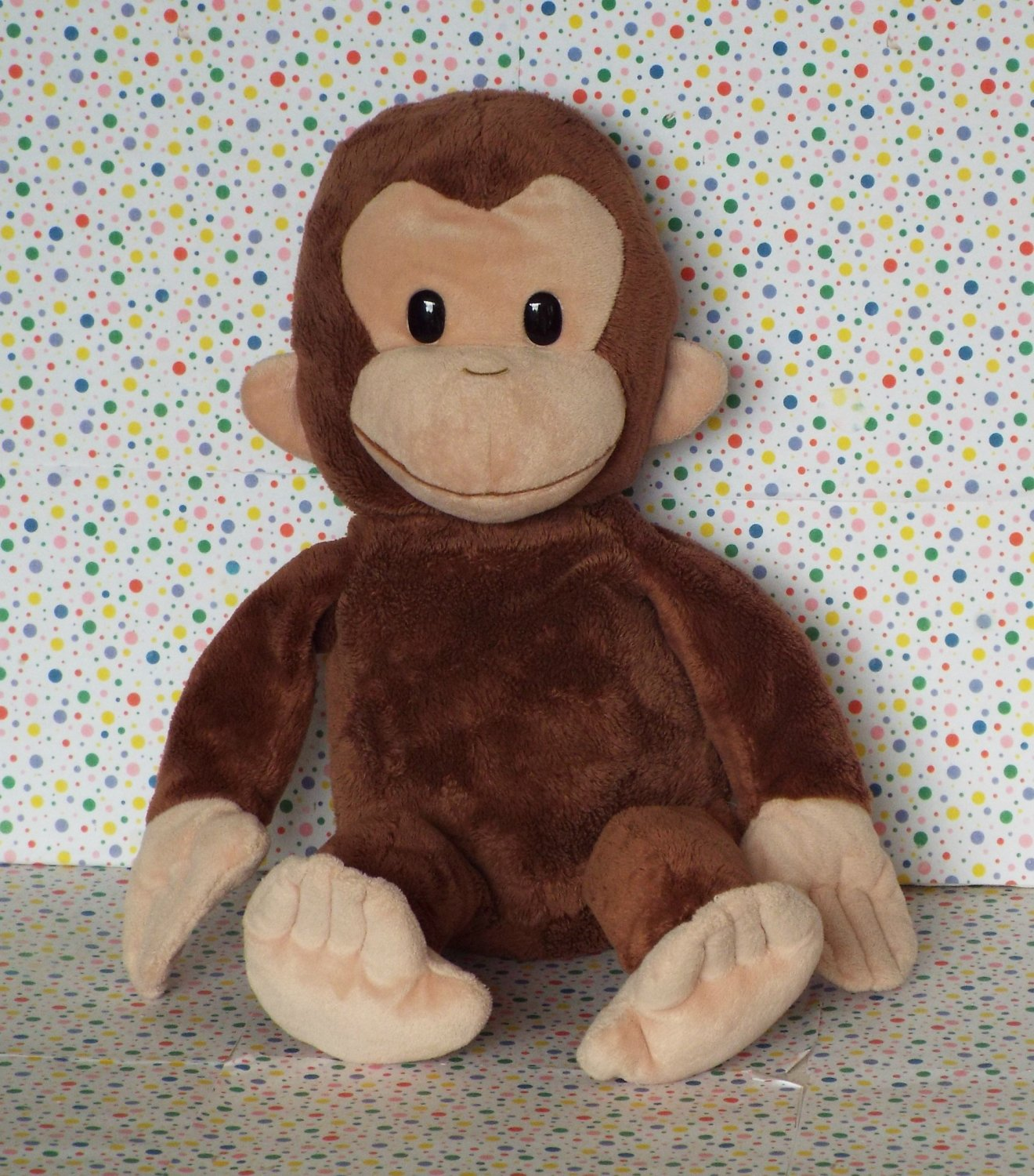 *11/14*SOLD~Curious George Monkey Stuffed Animal Lovey
