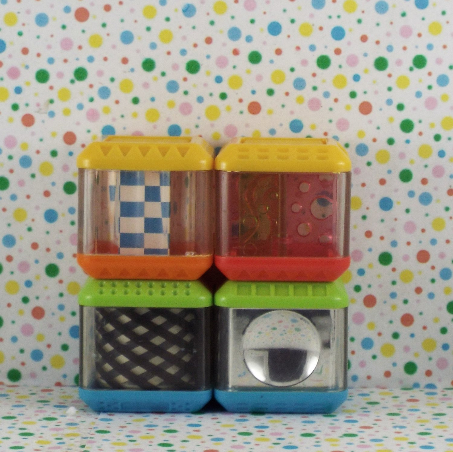 Fisher Price Peek A Blocks Sights and Sounds Block Lot